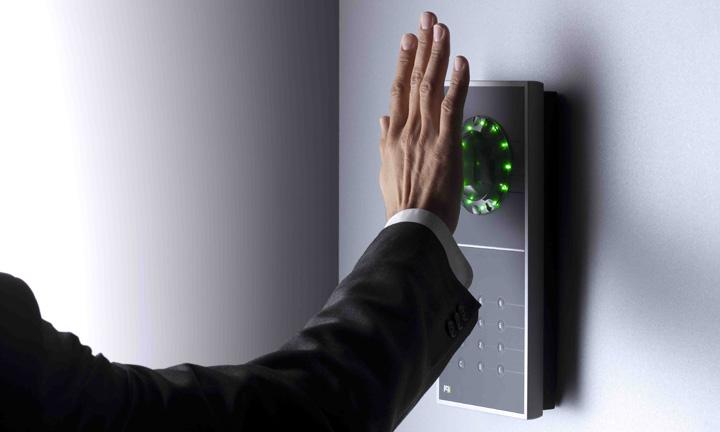 Handvenen-Erkennung von PCS Intus